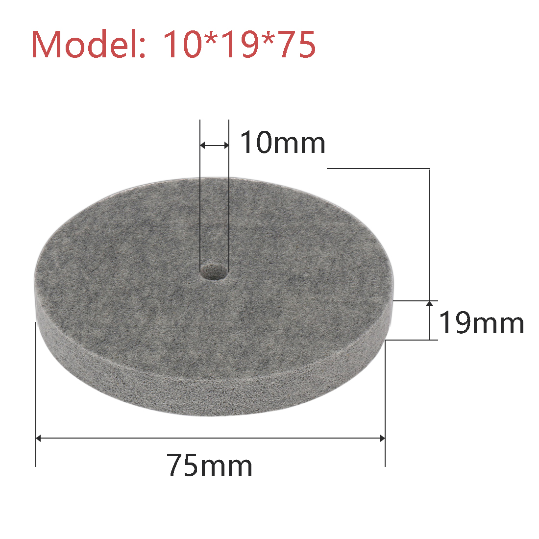 Tools Polishing Material Polishing Metal Fittings Grinding 75*19*10mm Nylon Fiber Wheels For Dremel Tool Accessories