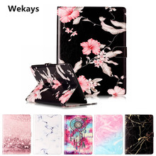 Wekays Tablet Case For Apple Ipad 2 3 4 Cover Flip Leather PU Stand Kickstand Case Cartoon Windbell Funfas for iPad 3 ipad 4 wekays for apple ipad 4 3 2 stand smart pu leather flip fundas case for coque ipad2 ipad3 ipad4 tablet cover case for ipad 2 3 4