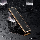 Compact Mini Usb Electronic Cigarette Lighter Flame Less Windproof Plasma Arc Fance Lighter Rechargeable No Gas Ignition Tools