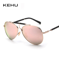 Women Fashion Brand Designer Sunglasses Flat Mirrored Lenses Shades Multi Colors Sun Glasses