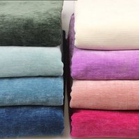 2 8m Width And 1m Length Chenille Curtain Cloth Plain Coloured Flannel Cloth Sofa Cover Manual
