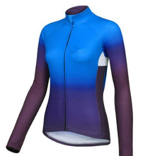 2016 Pro Women Autumn Long Sleeve Cycling Jersey Quick-Dry Bike Spring Cycling Clothes