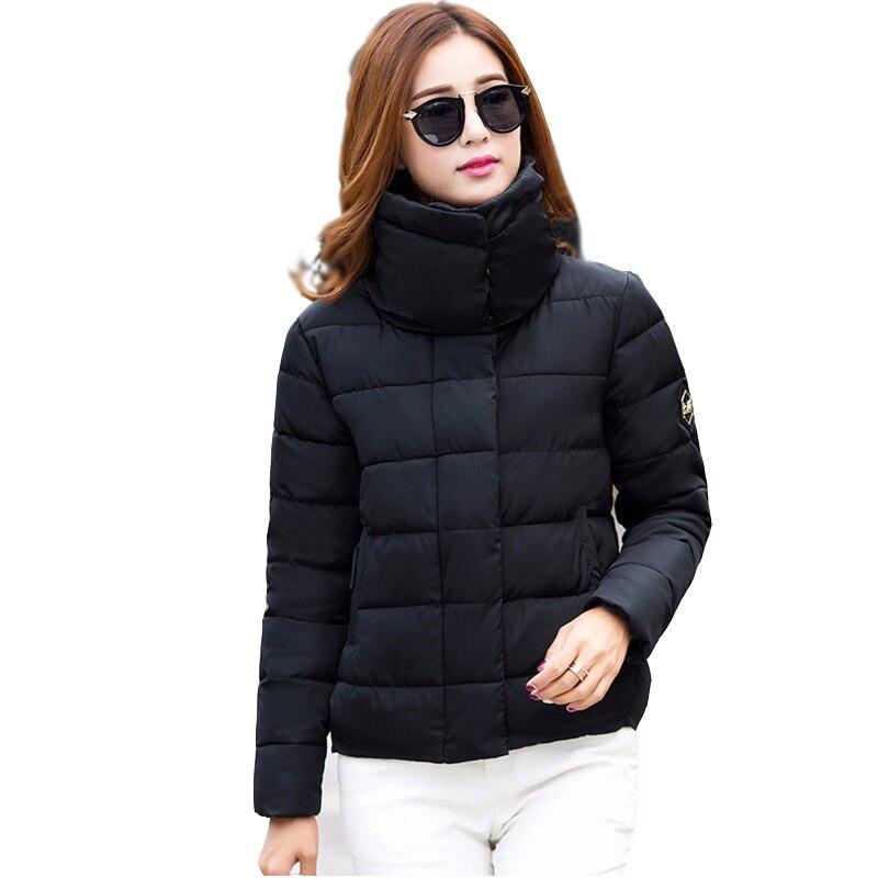 Kış Ceket Kadınlar 2016 Yeni Parkas Sonbahar Casual Ceketler Kadın Ceket Moda Kadın Aşağı Ceket Parka Wadded Artı Boyutu D88