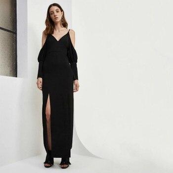 15101e497ab6 Vestidos largos de lentejuelas de plata de moda de mujer vestidos de fiesta  sexis bata ropa mujer ...
