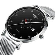 NIBOSI Men Watch Waterproof Date Calendar Analogue Wristwatches Mens Business Casual Quartz Watches For Man Clock Reloj Hombre цена и фото