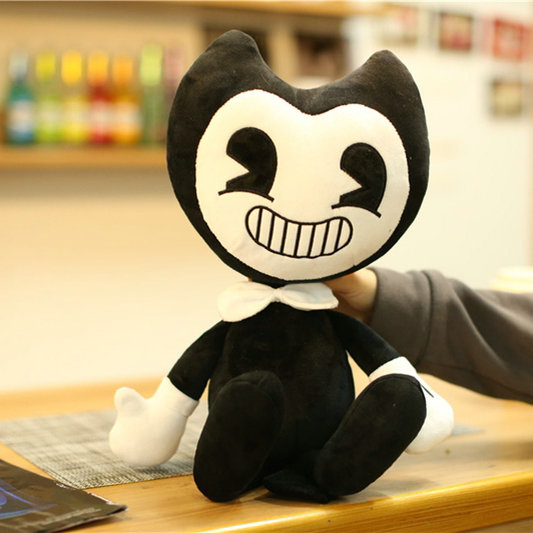 Drop shipping Hot Sale Bendy Plush Toys Game Horror Bendy and Boris Peluche Dolls Baby Kids Friends Gift 15/30/50cm hot sale toys 45cm pelucia hello kitty dolls toys for children girl gift baby toys plush classic toys brinquedos valentine gifts
