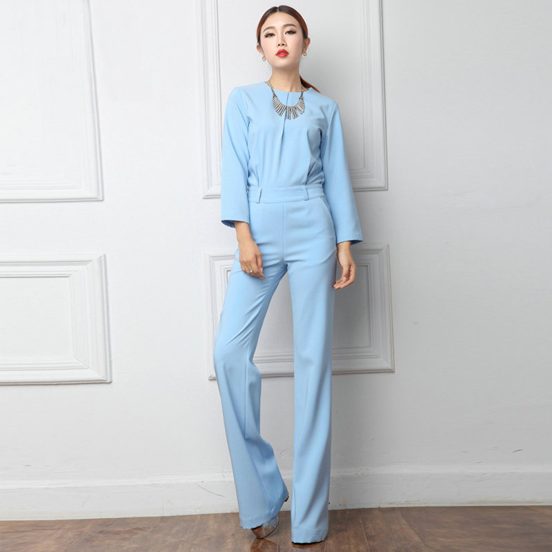 Aliexpress.com : Buy Free shipping 2016 spring jumpsuit wide leg ...