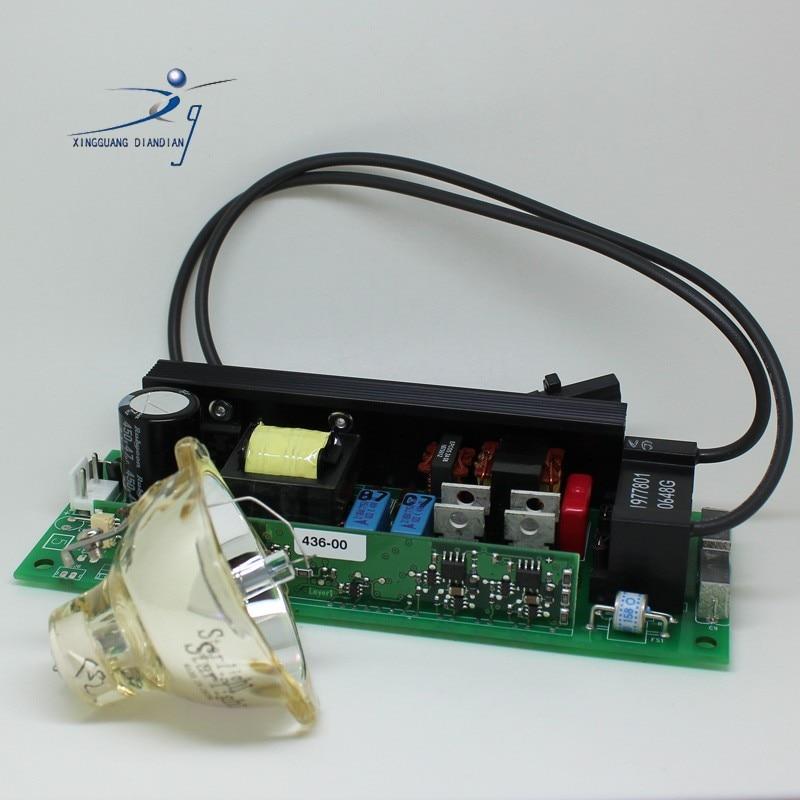 Starlight 2r 120w beam lamp + ballast power supply bulb msd metal halide lamp moving head
