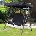 Garden Chair  steel frame stable at high wind OP2576BK