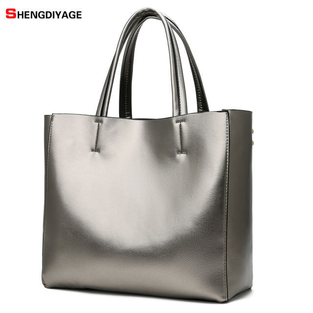 4b461f60fb 2018 New Women Bag Luxury Brand PU Leather Female Handbags Fashion Ladies  Bag Designer Shoulder Bags