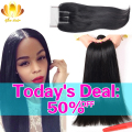 Afee Hair Products Peruvian Virgin Hair with Closure 3 Bundles Peruvian Straight Hair with Closure Human Hair with Lace Closure