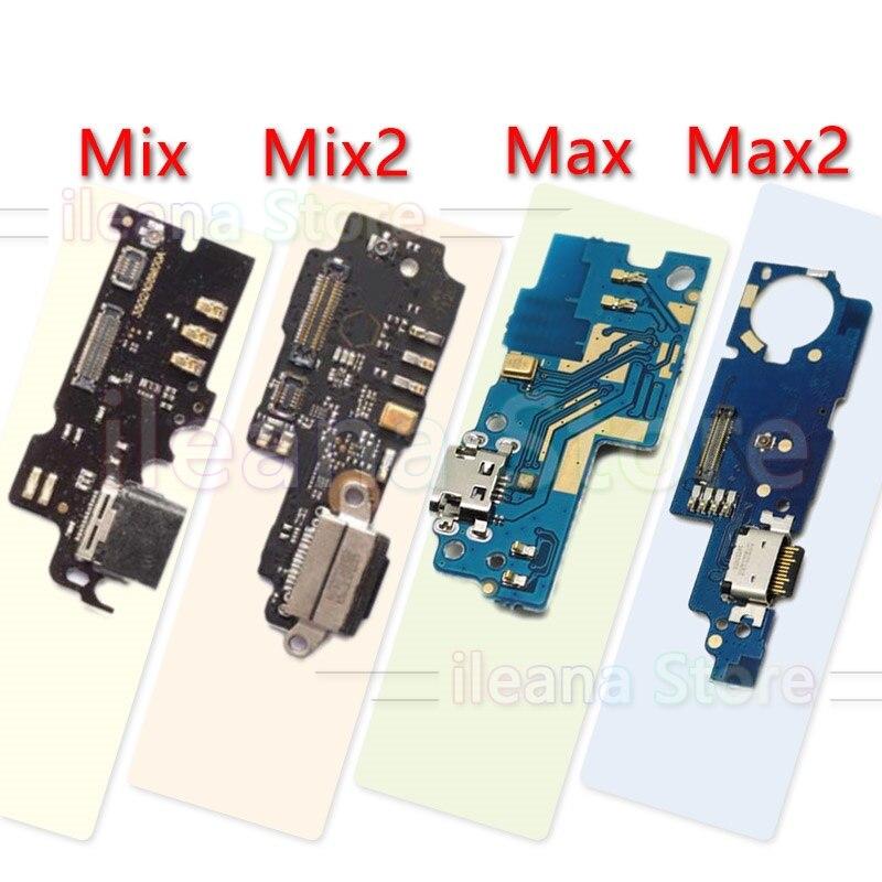 Mi Mix Max Mix2 Max2 3 PCB USB Connector Port Dock Charging Flex Cable For Xiaomi Mix Max 2 2s 3 Charger Board Flex