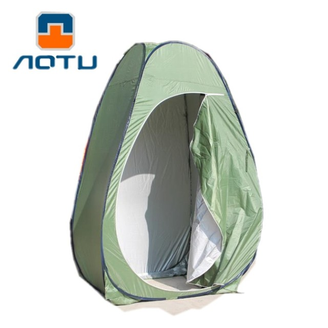 AOTU Collapsible Shower Tent Beach Shower Outdoor Camping Changing Room Pop Up Privacy Tent with Carry Bag Portable Toilet Tent