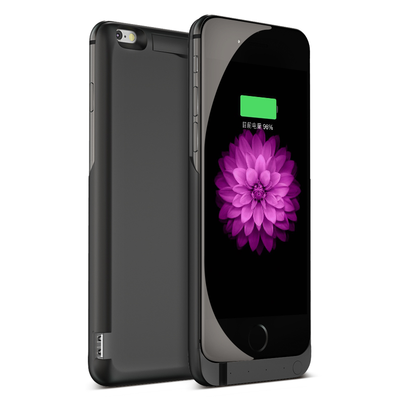 Xlot 7000mAh Rechargeable Backup Power Bank Battery Charge Cover Case For Apple iPhone 6 6s External