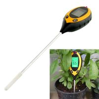 Multi Function 4 In 1 Garden Plant Soil Survey Instrument Sunlight Moisture Light PH Tester Meter