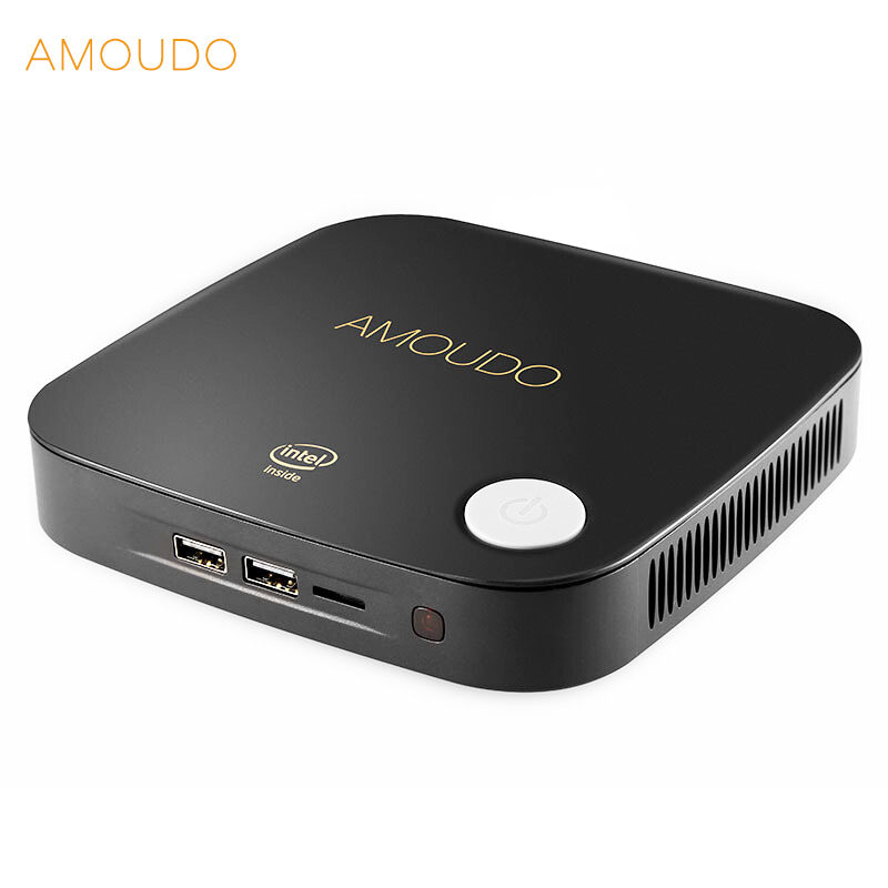 amoudo intel core i5-4200U 8gb ram+256gb ssd+500gb hdd windows 10 system wifi bluetooth gigabit network hdmi mini pc desktop 8gb ram 256gb ssd fanless desktop pc embedded pc mini industrial computer with core i5 4200u 2 com rs232 4 usb3 0 hdmi wifi