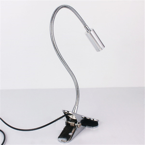 Image 5 - Free shipping LED desk lamp,clamp reading lamp, 30/40/50cm 3W Flexible led table light ,high brightness clip spot lamp  TD 005