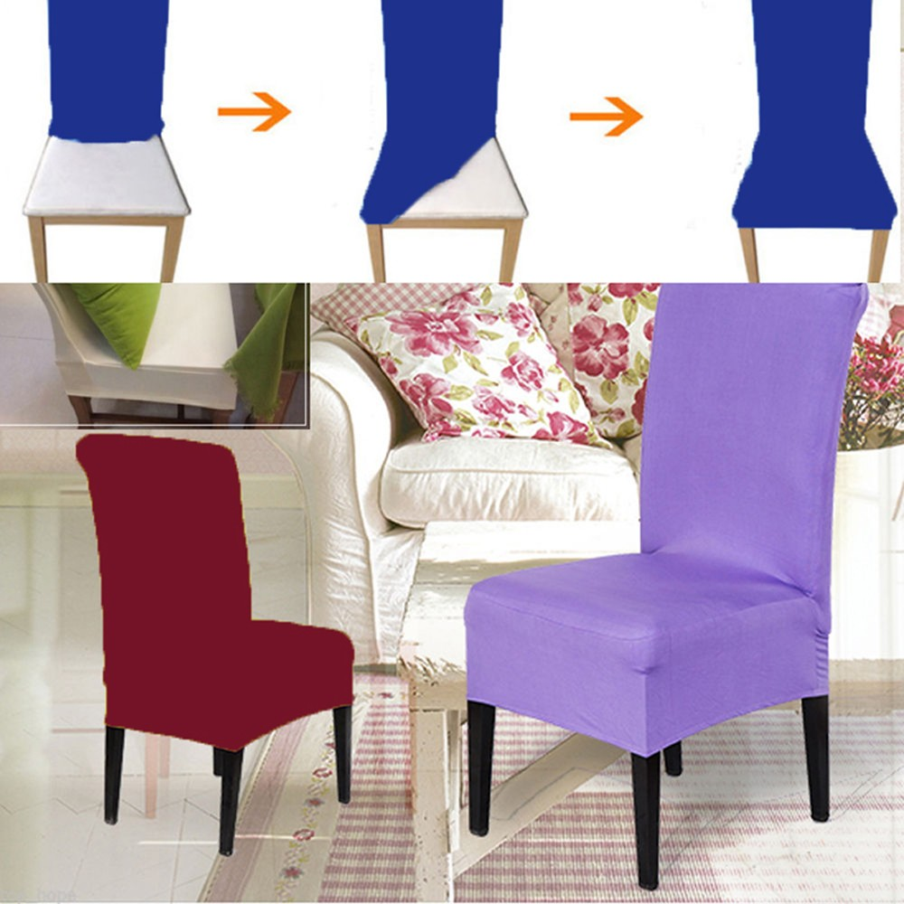 new fashion chair cover kitchen bar dining seat covers hotel restaurant wedding part decor in chair cover from home garden on aliexpresscom alibaba