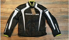 Rock Biker Jacket with 5 pieces protections