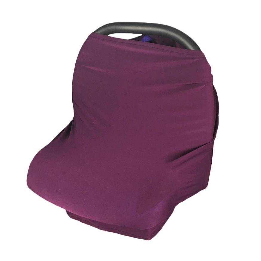 BMF Fashion Cotton Materity Top CarSeat Cover Canopy Nursing Cover Scarf Baby Stroller Cover Canopy Mar17 Drop Ship