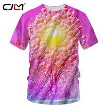 69e368127 CJLM Casual Tshirts Men Hip Hop Short Sleeve O Neck Tee Shirts Man Funny  Print Snow Tree In Sunshine 3d T-shirts Tees Dropship