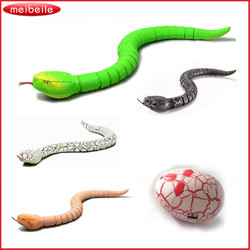 Funny Novelty Wireless Remote Controlled RC Simulative Rattlesnake Snake Toy Gifts lifelike Free Shipping
