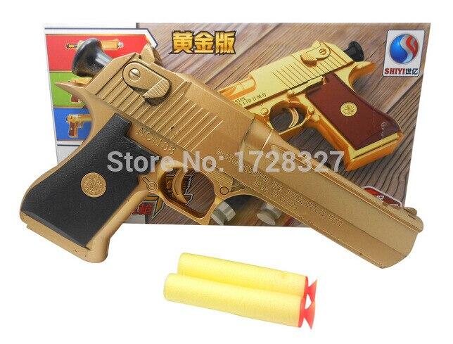 2018 Simulation militaire Jouets balle Molle pistolet sécurité des enfants sucker gun de haute qualité boîte de couleur emballage sol Hockin SQ012
