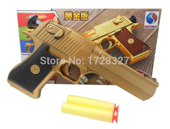 2019 시뮬레이션 군사 완구 토양 호킨 SQ012을 포장하는 어린이 차양 총 고급 컬러 상자의 부드러운 총알 총 안전