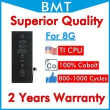 BMT оригинальный 5 шт., высококачественный 100% кобальтовый аккумулятор для iPhone 8 8G + технология ILC в 2019 году, замена, ремонт, iOS 13