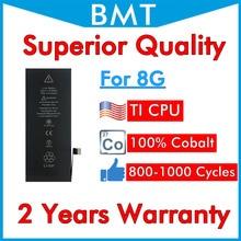 BMT Original 5 pièces qualité supérieure 100% Cobalt batterie pour iPhone 8 8G + ILC technologie en 2019 remplacement réparation iOS 13