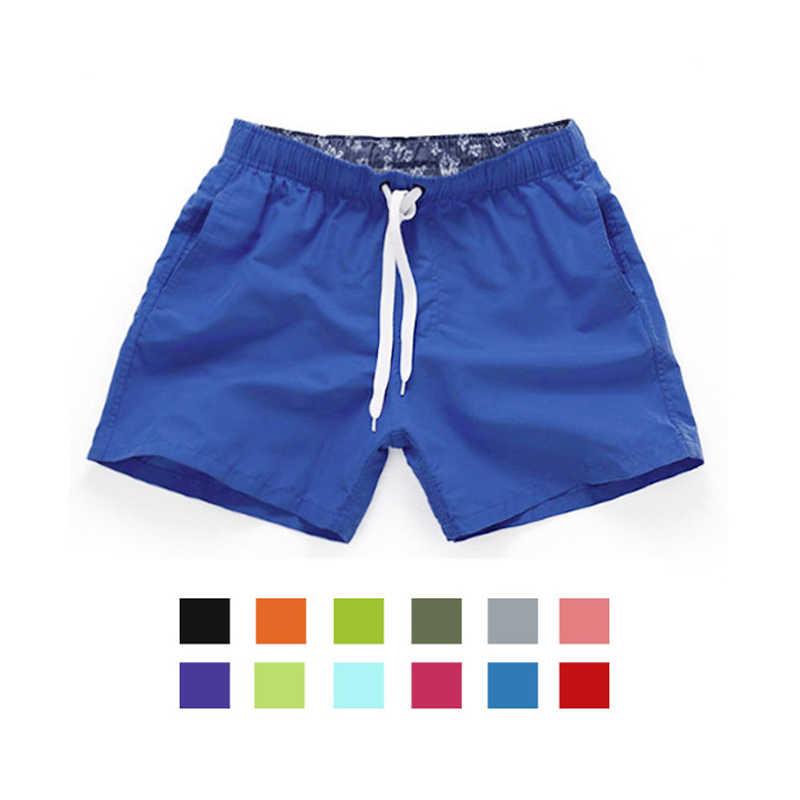 CALOFE Dropship 2018 Praia Shorts Board Shorts Men Underwear Briefs Swimwear Natação Troncos Bermuda Nadar de Surf Esporte Maiô