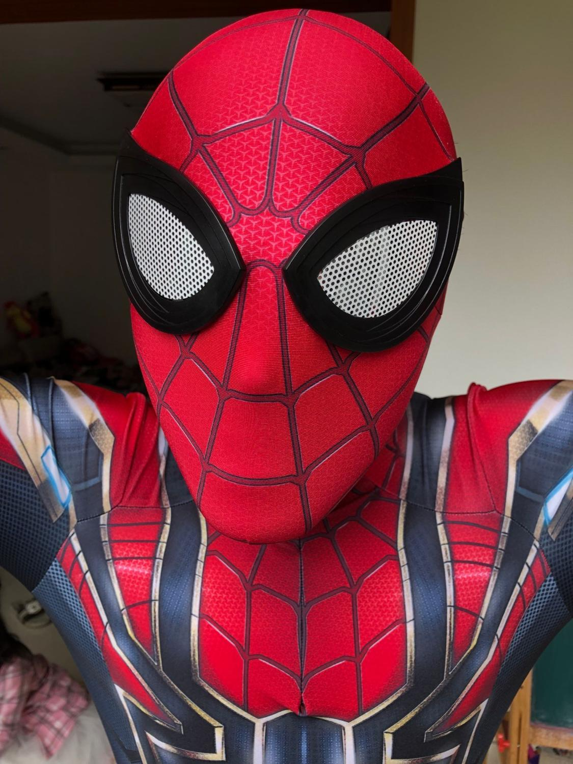 Iron Spiderman Costume 3d Print Halloween Cosplay Iron Spider Man