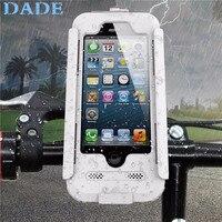 Nowy Pop Rower Motocykl Kierownica Góra Uchwyt Rower Wodoodporny Telefon Case Dla iPhone 5 5S 6 6 S 4.7
