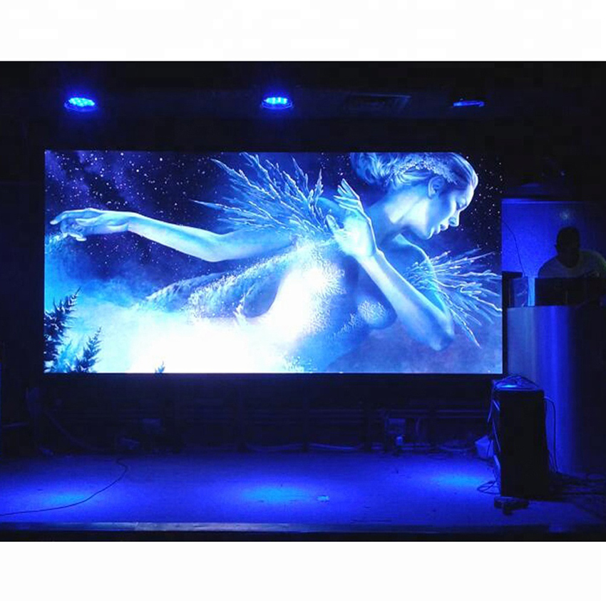 Indoor advertising board LED display video wall P3 SMD2121 576*576mm Die Casting Aluminum Cabinet rental led screen