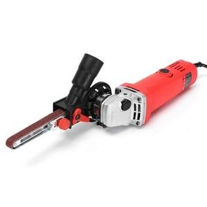Image 3 - Sander Machine Sanding Belt Adapter Head Convert M10 M14 With Sanding Belts For Electric Angle Grinder Woodworking