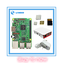 Original Raspberry Pi 3 Model B Quad Core 1.2GHz 64 bit CPU wifi & bluetooth
