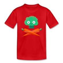 Pirate Veggie symbol kids shirt