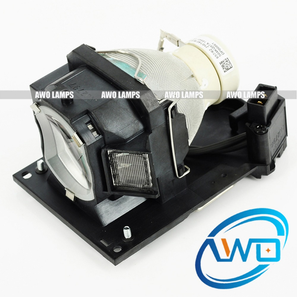 AWO Original Projector Lamp DT01181 with UHP Bulb Inside for HITACHI BZ-1/CP-A220M/A220N/A221N 150 Day Warranty original projector lamp dt01251 for hitachi bz 1 cp a220n cp a221n cp a221nm cp a222nm cp a222wn cp a250nl