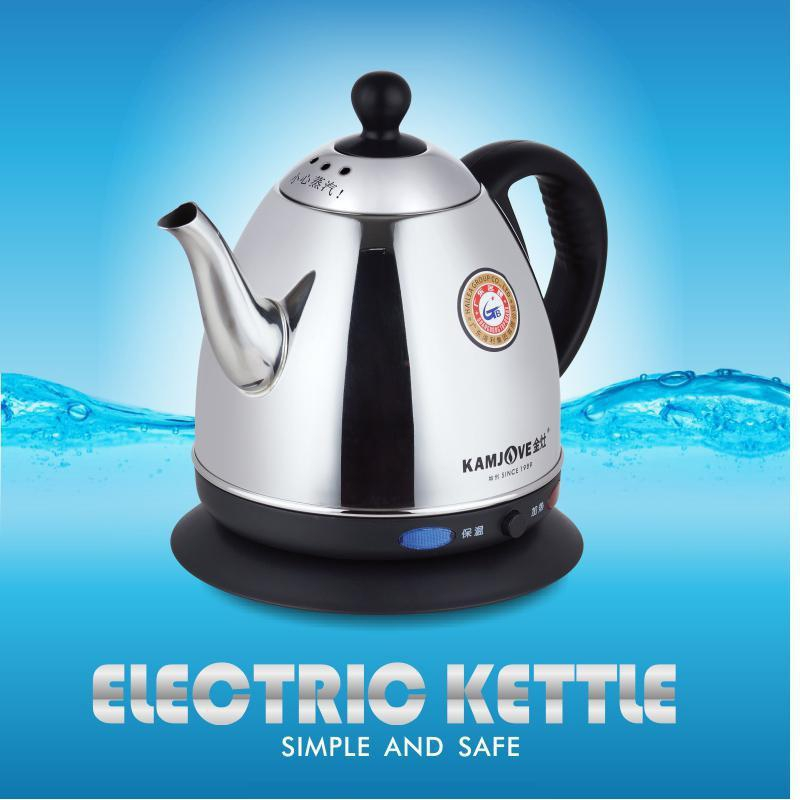 free shipping KAMJOVE T 808 electric kettle stainless steel kettle Heat preservation electric teapot automatic power