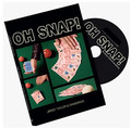 2015 New OH SNAP! Blue (DVD and Gimmick) by Jibrizy T- magic trick,stage,card magic,close up,mentalism,illusion,Accessories