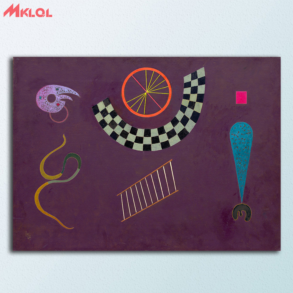 La colometria a supporto degli interventi conservativi su dipinti murali contemporanei. Ribbon With Squares By Wassily Kandinsky Canvas Painting For Living Room Home Decoration Oil Painting On Canvas Wall Painting Paintings On Canvas Ribbon Canvaswithings Home Aliexpress