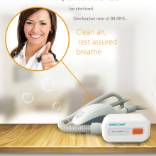 Cpap Cleaner Mask Sanitizer Bipap-Machine Apap Respironics-Tube Resmed Disinfector Rescomf
