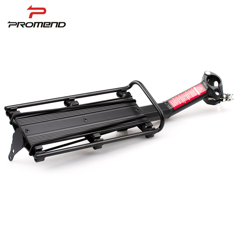 Bicycle Luggage Carrier Cargo Rear Rack Aluminum Alloy Applicable Pipe Diameter 27.2 31.6 Quick Release Cycling Seatpost Shelf