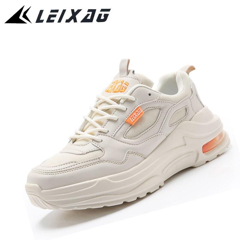 LEIXAG Men Running Shoes Outdoor High Increasing Walking Shoes Breathable Mesh Men Sneakers Sport Shoes For Men Jogging Shoes