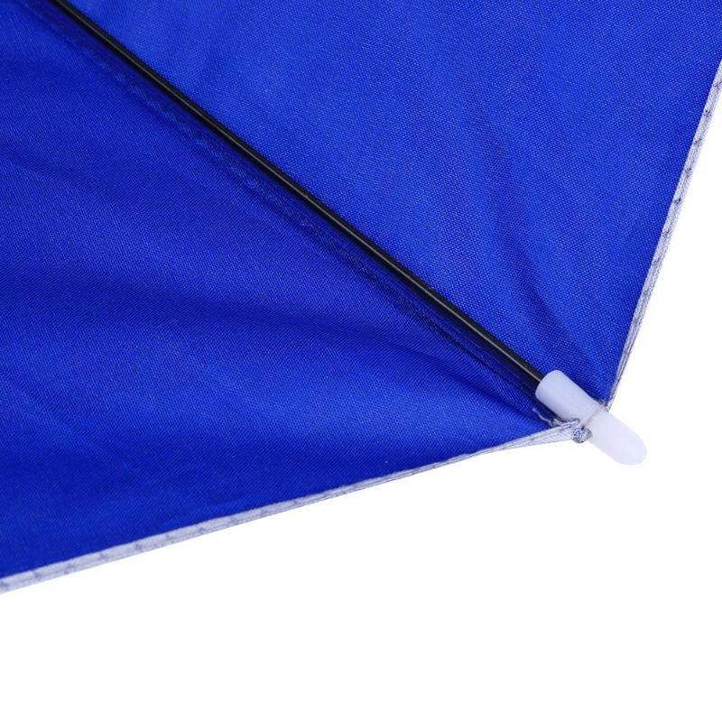 Портативный складной головной зонтик шляпа анти-дождь Открытый Кемпинг Пешие Прогулки рыбалка зонтик от солнца колпачок для зонтика