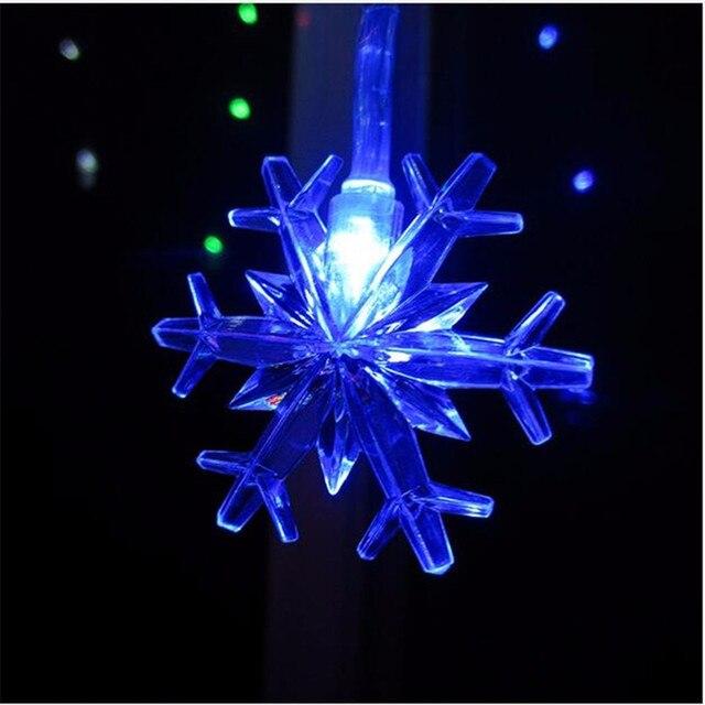 YIYANG 10 M 100led Sneeuw Vlokken String Led Guirlande Verlichting ...