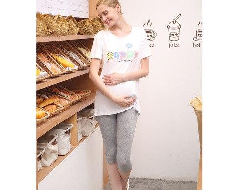 de verao calcas maternidade modal mulheres