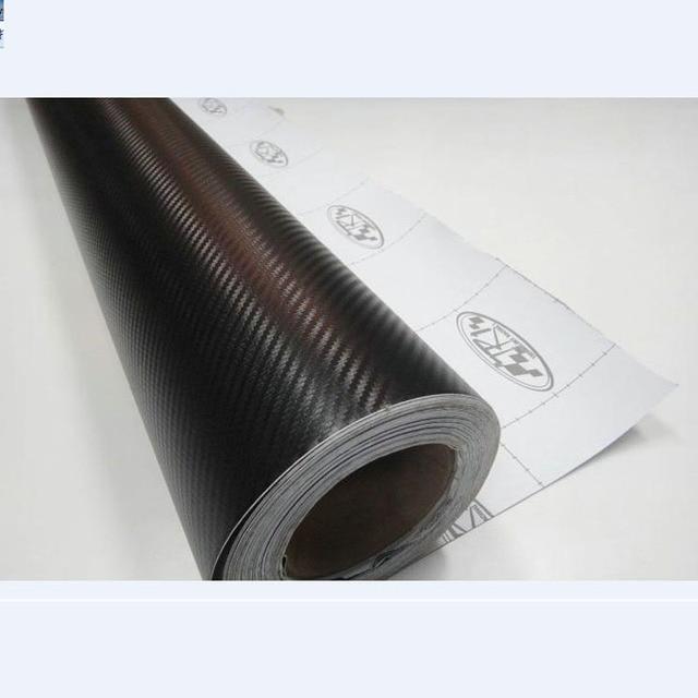 Nieuwe 127 cm x 20 cm 3D Auto Carbon Vinyl Film Carbon Auto Wrap Sheet Roll Film Papier Motorfiets Auto Stickers Decal Auto Styling