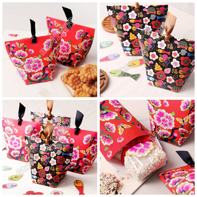 Aliexpress Buy 50pcs Japanese Traditional Flower Candy Box