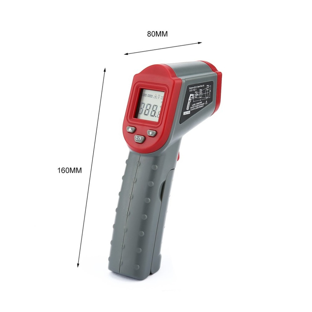 DT8500 Non Contact Infrared Thermometer with Auto Off and Data Hold Function for forehead Temperature Measurement 5